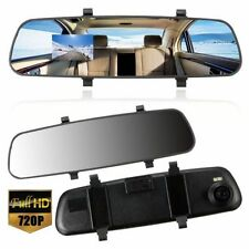 2.7'' In-Car Rear View Mirror Dash Video DVR Recorder Camera Monitor HD 1080P M2