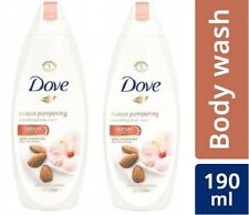 Dove Almond Cream and Hibiscus Body Wash,190 ml X 2 PACK (Free shipping world)