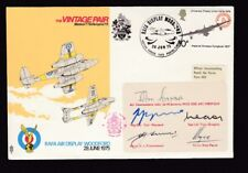 Air Show RAFA Air Display Woodford 1975 The Vintage Pair SIGNED FULL TEAM cover