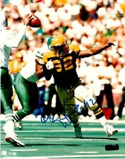 "REGGIE WHITE  ""GREEN  BAY PACKERS""  SIGNED 8 X 10  PHOTO COA  OLD PRO GALLERY"