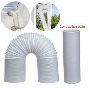 1.5m/2m Length Flexible Exhaust Hose AC Tube Duct Vent Portable Air Conditioner