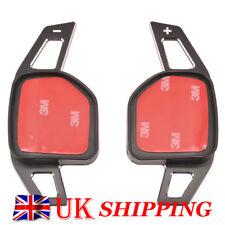 Car Alloy Shift Paddle Gear Extensions For AUDI A3 A6 Q5 Q7 A7 A8 S6 SR4 SR6 R8