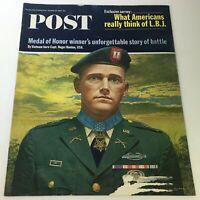 VTG The Saturday Evening Post October 25 1965 - Vietnam Hero Capt. Roger Donlon