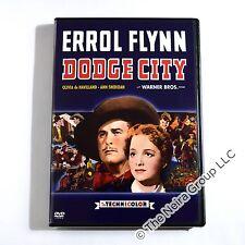 Dodge City DVD New Errol Flynn, Olivia de Havilland, Ann Sheridan, Bruch Cabot