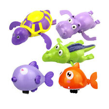 Bath Pool Toys Educational Clockwork Bathtub Water Toys for Babies Toddlers