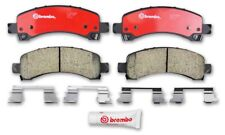 Disc Brake Pad Set-Premium NAO Ceramic OE Equivalent Pad Rear Brembo P10048N