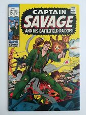 Captain Savage and his Leatherneck Raiders (1967) #9 - Fine