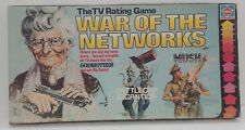 WAR OF THE NETWORKS (1979)--Rare HASBRO board game--Great!