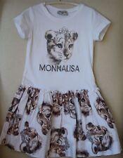 MONNALISA GIRLS LION PRINT DRESS 4 YEARS