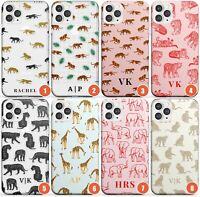 Personalised Safari Animal Patterns Slim Phone Case for iPhone | Jaguar Safari A