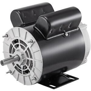 2 HP SPL Air Compressor Electric Motor 56 Frame 3450 RPM 115V/230V Single Phase