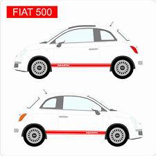 Brand New Fiat 500 Abarth Custom Stickers Voiture Autocollant Vinyle Graphique Italie