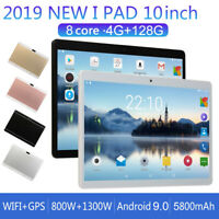 "10"" Tablet PC Android 9.0 Octa Core Dual Camera 4GB+128GB WIFI Dual SIM Tablet"