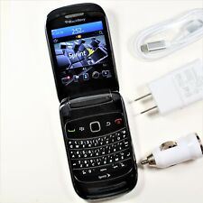 BlackBerry Style 9670 (Sprint) Black 3G Flip QWERTY Phone - Fast Ship - GPS, MP3