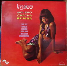 MARIO CAVALLERO TYPICO BOLERO CHACHA RUMBA SEXY CHEESECAKE COVER FRENCH LP