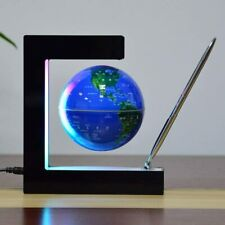 Magnetic Levitating Globe Electronic Floating Maglev Lamp Rotation Decoration