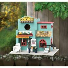 workout exercise gym personal trainer fitness fairy garden Bird house birdhouse