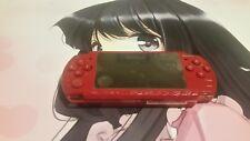 Sony PSP 2000 God of War Edition 4GB Red Handheld System Read Description