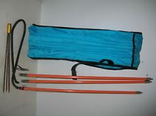 Pole Spear 3 Section Fiberglass, Paralyzer tip, with Travel Case Hawaiian Sling