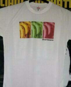 "Charlatans T-Shirt Size Medium (40"") Between 10th and 11th"