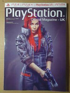 PlayStation Official Magazine August 2018 #151 Subscriber (370) Cyberpunk 2077