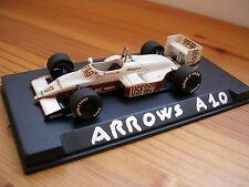 1/43 ARROWS A10 (1987) #17 DEREK WARWICK - TAMEO FORMULA 1 BUILT MODEL