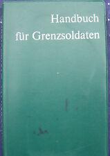 Handbuch für den Grenzsoldaten NVA Grenzer Berliner Mauer innerdeutsche Grenze