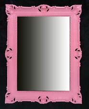 Specchio in stile barocco MURO ROSSO ANTICO ROCOCO 90X70 cm REPRO