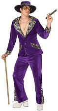 Pimp Adult Costume PURPLE  X-LARGE