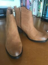 Dune Tan Ankle Boots Size 41