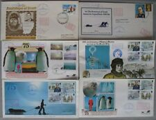 s1962) 185 Belege 75th anniversary of Captain Scott´s arrival at the South Pole