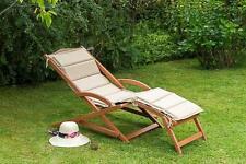 MX Gartenliege Copa Cabana Schwingliege, Relaxliege Holzliege Sonnenliege Holz