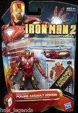 Marvel IRON MAN 2 Concept Series. POWER ASSAULT ARMOR. No.04 New! Avengers.