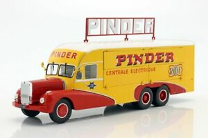 IXO PINDER CIRCUS BERNARD 28 ELECTRICAL GENERATOR TRUCK MODEL LK01 1:43