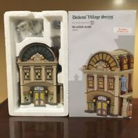 Victorian Christmas Dept 56 Retired Dickens Snow Village Oxford Arcade #4056637