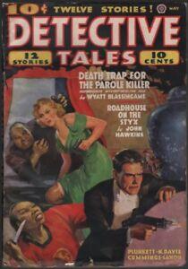 Detective Tales 1938 May.   Pulp.