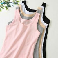 Women Tank Tops Combed Cotton Comfortable Breathe Solid Camisoles Vest 3pcs/lot
