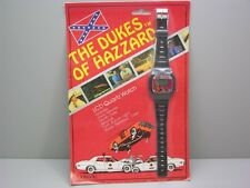 Original 1981 Dukes Of Hazard Unisonic Quartz Watch in Original Blister Pack