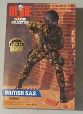 "GI JOE 12"" CLASSIC COLLECTION BRITISH SAS AFRO-AM 1996, KENNER HASBRO  NEW"