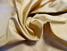 "New Smaller Size ""Old Gold"" Silk Tissue Taffeta~Doll Fabric~9""x22"""