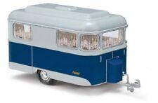 Busch 51702 Nagetusch Caravane Bleu Modèle Auto 1 87 (h0)