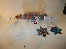 Kids Craft Bead Lot Iron Fuse Beads & Templates