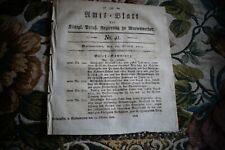 1822 Zeitung r31 / Neudorff bei Stuhm