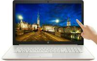 "HP 17"" TOUCHSCREEN HD Intel i5-1035G1 256GB SSD 8GB RAM DVD Rose Gold Laptop"