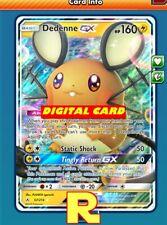 Dedenne GX - Regular Art - for Pokemon TCG Online (DIGITAL ptcgo in Game Card)