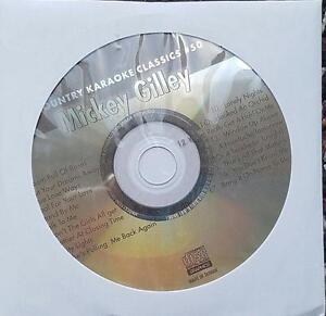 MICKEY GILLEY KARAOKE CDG COUNTRY KARAOKE CLASSICS CKC50 LONELY NIGHTS CD+G