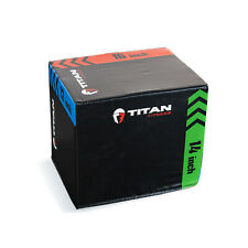 "Titan Fitness 3-In-1 Heavy Foam Plyometric Box 12"" 14"" 16"""