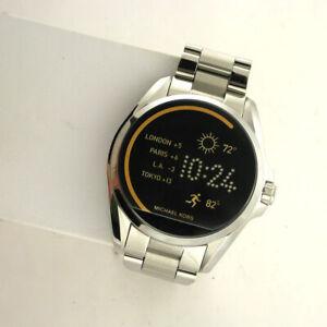 Michael Kors Access Touchscreen MKT5012 Bradshaw Smartwatch Stainless link Band