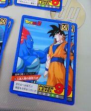 DRAGON BALL Z DBZ SUPER BATTLE POWER PART CARD CARTE 256 MADE IN JAPAN 1993 NM