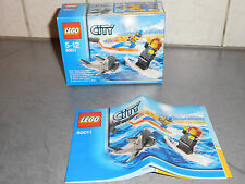 LEGO CITY L INTERVENTION DU GARDE-COTE 60011 TRES BON ETAT